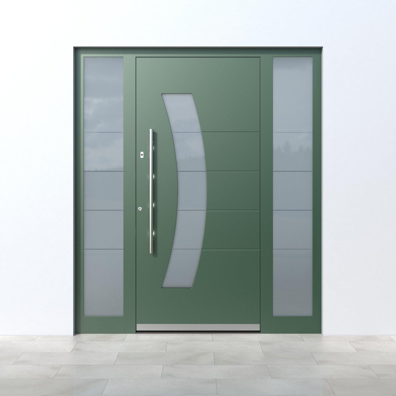 Pirnar_Quantum_QS70-2-Green Haustüren