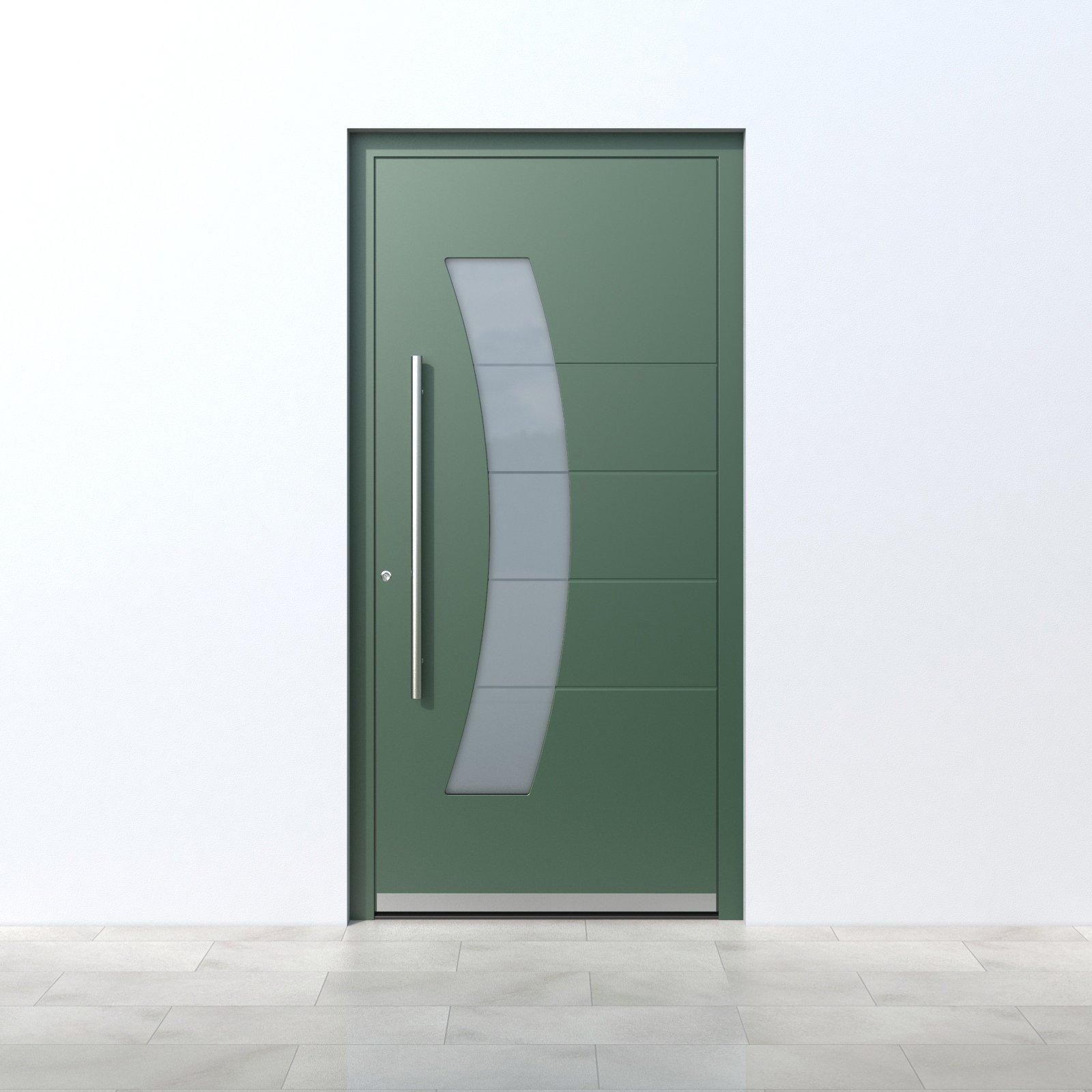 Pirnar_Quantum_QS70-standard-Green Haustüren